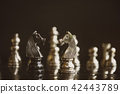Chess game competition business concept , Chess, L 42443789