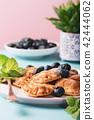 Dutch mini pancakes 42444062