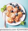 Dutch mini pancakes 42444089
