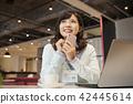 有智能手機的女商人 42445614
