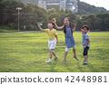 紙飛機,人,韓國人,兒童戶外_006 42448981