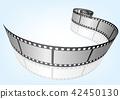 特寫電影 / 攝影 35mm 底片模板,向量3D元素 42450130