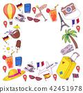 travel, hat, palm 42451978