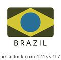 brazil flag 42455217
