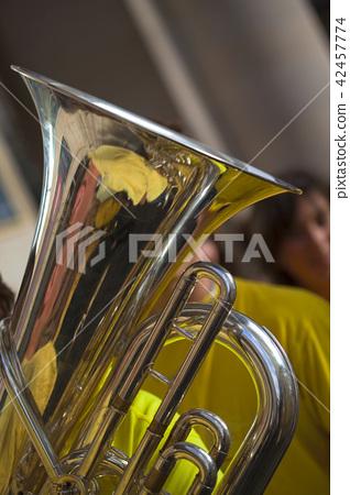 Close up of tuba 42457774
