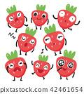 딸기, 감정, 정서 42461654