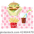 lunch, burger, burgers 42464470