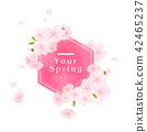 充滿了春天和鮮花 42465237