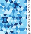 Seamless triangular patter 42467088
