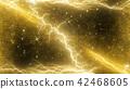 flash of lightning, lightning, gleam 42468605