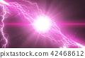 flash of lightning, lightning, gleam 42468612
