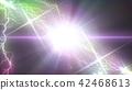 flash of lightning, lightning, gleam 42468613