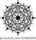 illustration tangle mandala 42469389