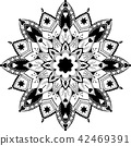 mandala illustration tangle 42469391