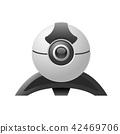 Video chat camera - web camera 42469706