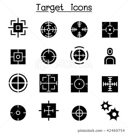 Target icon set 42469754
