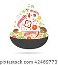 vector food vegetable 42469773