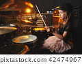 drums, drum, girl 42474967