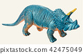 triceratops dinosaur toy  42475049