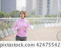 運動的女人 42475542