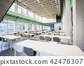 the dining room in an restaurant 42476307