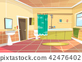 cartoon bathroom interior background 42476402