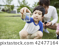 가족,공원,자연,숲,아이,어린이,여름,방학,소풍,휴가 42477164