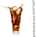 glass of cola 42477307