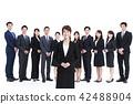 비즈니스 흰색 배경 어른 사업가 남성 42488904