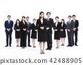 业务whiteback大量的商人男性 42488905