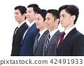 ธุรกิจ White Back นักธุรกิจจำนวนมาก 42491933