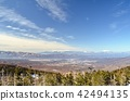 从北Yatsugatake索道到中央阿尔卑斯山,Ontakeyama方向 42494135