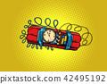 time bomb. explosive dynamite 42495192