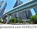 도시 풍경 도쿄 신바시 ·시오도 메 42495276