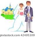 bridegroom, groom, bride 42495309
