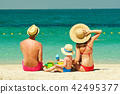 beach, family, mother 42495377