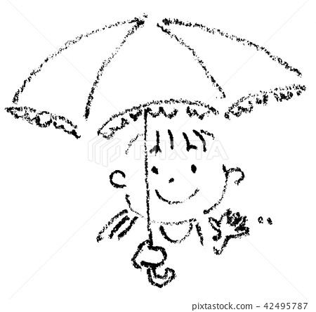 A parasol girl 42495787