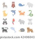 animal, cartoon, collection 42496043