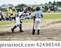 男孩棒球比赛 42496546