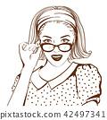 woman portrait female 42497341