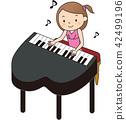 피아노, 연주, 그랜드 피아노 42499196