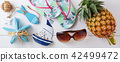 Summer beach vacation accessories 42499472