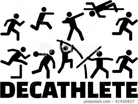 Decathlon pictogram set 42499837