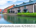 """""""北海道""""小樽運河·旅遊景點 42500211"""