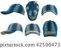 old jean hat 42506473