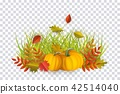 vector, autumn, leaf 42514040