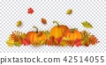 vector, autumn, leaf 42514055