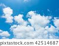 藍天天空背景背景材料 42514687