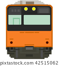 dot picture, electric train, train 42515062