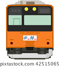 dot picture, electric train, train 42515065